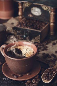 Coffee Is Life, I Love Coffee, Coffee Art, Black Coffee, Coffee Break, Iced Coffee, Coffee Drinks, Morning Coffee, Coffee Lovers