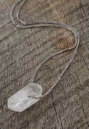 rock crystal necklace - Lacey Ryan Collection - maurices.com