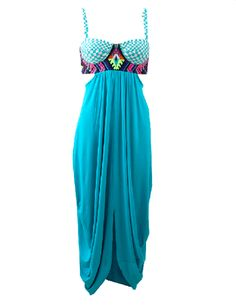 boutique flirt - Mara Hoffman Embroidered Bustier Dress Turquoise, $245.00 (http://www.boutiqueflirt.com/mara-hoffman-embroidered-bustier-dress-turquoise/)