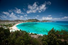 Dutch Sint Maarten, French Saint-Martin, island, lying at the northern end of the Leeward group of the Lesser Antilles in the northeastern Caribbean Sea. Cruise Destinations, Vacation Places, Dream Vacations, Vacation Spots, Places To Travel, Romantic Vacations, Italy Vacation, Romantic Travel, Royal Caribbean