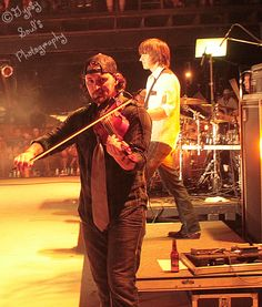 Brady Black From the Randy ROgers band on the fiddle. =)