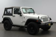 For Sale: 2013 Jeep Wrangler 4WD 2dr Sport $25,988 - Miles 6,907 Delivery Available - Click Link for more Pics/Details http://www.conroebuickgmc.com/VehicleDetails/used-2013-Jeep-Wrangler-4WD_2dr_Sport-Conroe-TX/2242409533
