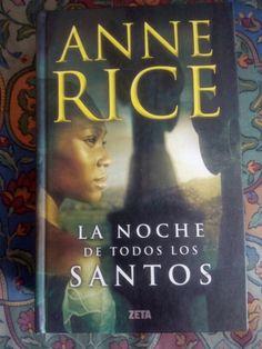 La noche de todos los santos de Anne Rice