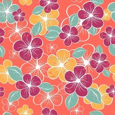 Abstract Seamless Floral Pattern #GraphicRiver abstract seamless floral pattern. Colorful vector illustration Created: 14September13 GraphicsFilesIncluded: JPGImage #VectorEPS Layered: No MinimumAdobeCSVersion: CS Tags: art #artwork #beauty #bloom #blossom #blots #bouquet #color #design #drawing #fashion #flora #floral #flower #fun #growth #iris #leaf #nature #outline #pattern #petal #plant #pretty #single #soulful #spring #stem #summer #vector