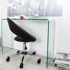 Bureau Design, Guest Bedroom Office, Kids Bedroom, Eco Furniture, Glass Desk, Interior Decorating, Interior Design, Transparent, Interior Architecture