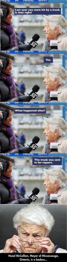Funny pictures about Canadian Grandma. Oh, and cool pics about Canadian Grandma. Also, Canadian Grandma photos. Baba Yaga, Funny Images, Best Funny Pictures, Funny Pics, Random Pictures, Videos Funny, Chuck Norris, Just For Laughs, Super Funny