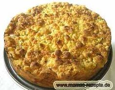 Rhabarberkuchen mit Rührteig | Mamas Rezepte - Alle Rezepte mit Bild und Kalorienangaben