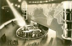 Raymond Loewy Vision for 1939 World's Fair
