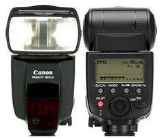 Canon Speedlite 580EX II by robert_hornung, via Flickr