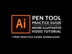 Adobe Illsutrator Tutorial: Pen Tool Practice Guide - Erin Gipford - Graphic Designer - Ellsworth, WI