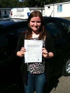 Another first time pass.  Happy driving in Winslow.