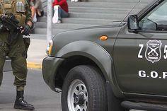 Osorno: Operativo del GOPE por paquete sospechoso en calle Lastarria | SurNoticias.cl / Agencia ArtPress_