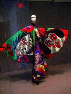 mode japonaise : Kansai Yamamoto