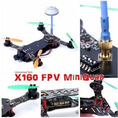 The X160 FPV mini Quadcopter is landing soon :-) #quadcopter #firstpersonview #miniquad #fpv #dronegear #drone