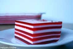Melissa's Cuisine: Layered Finger Jello