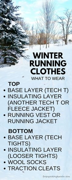 What to wear running in cold weather. Best clothes for winter running gear. Layering clothes, how to - base layer first. Ice and snow. Running tips for beginners. Running training plan for half marathon. Working out in winter Running Training Plan, Running Tips, Triathlon Training, Beginner Running, Race Training, Body Training, Training Schedule, Weight Training, Best Running Shorts