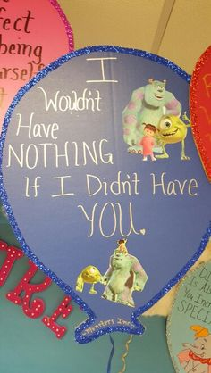 Monsters inc quote Monsters Inc Quotes, Child Development, Art Projects, Students, Christmas Ornaments, Holiday Decor, Children, Handmade, Young Children