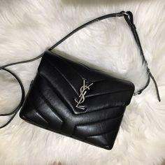 Saint Laurent Toy LouLou Brand new condition! Comes with original bag and box. Ysl Handbags, Crossbody Bags, Satchel, Trendy Purses, Barrel Bag, Saint Laurent Bag, Edgy Outfits, Designer Bags, Luxury Bags