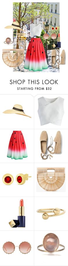 """""""Summer is here"""" by phocka-alba on Polyvore featuring Topshop, Chicwish, Gap, Cult Gaia, Estée Lauder, J.W. Anderson, Dolce&Gabbana and ABS by Allen Schwartz"""