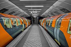 Clockwork Orange, Glasgow Subway                              …