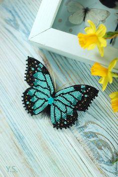 """Броши ручной работы. Ярмарка Мастеров - ручная работа. Купить Брошь """"Бабочка"""". Handmade. Брошь бабочка, брошь бабочка в подарок"""