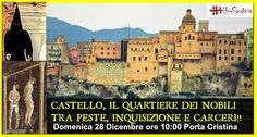 CASTELLO, IL QUARTIERE DEI NOBILI – CAGLIARI – DOMENICA 28 DICEMBRE 2014