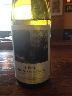2013 Cote Bonneville Chardonnay - Yakima Valley - A plethora of nutmeg on the nose with hints of white fruits, almost a touch of banana in there. Burgundy style with vanilla, nutmeg, and fruit on the palate. Super persistent. Spends 8 months on the lees. An interesting chardonnay that I would love to try again.