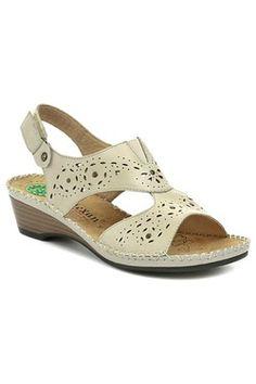 Reflexan 31804 béžové dámské sandály