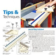 Router Table Featherboard Jig - Router Tips, Jigs and Fixtures   WoodArchivist.com