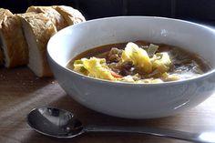 Basque Vegetable Soup - kitchengetaway.com