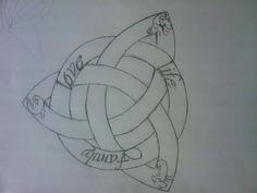 Irish Celtic Tattoos, Celtic Tattoo Family, Celtic Tattoo Meaning, Celtic Tattoo For Women, Symbol For Family Tattoo, Celtic Tattoo Symbols, Celtic Knot Tattoo, Symbol Tattoos, Tattoos Skull