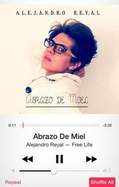 Primer sencillo de Alejandro Reyal, abrazo de miel