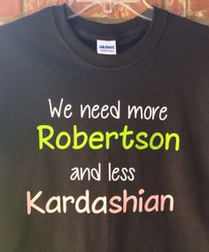 "Items similar to Duck Dynasty Inspired ""Need More Robertson"" Adult Tee on Etsy Vice Versa, Duck Commander, Duck Dynasty, Down South, True Stories, Laughter, Things I Want, Funny Pictures, Funny Quotes"