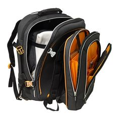 Perfect for a Bug Out Bag: UPPTÄCKA Backpack on wheels IKEA You can easily convert this backpack into two separate backpacks, 1 large and 1 small, by just unzipping the zipper.