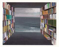 'Library by the Sea' by Jeremy Miranda
