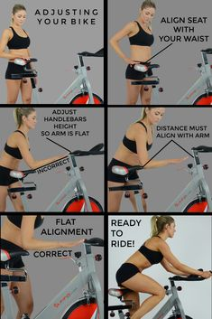 Create the perfect home gym with our workout equipment. We have everything you need- exercise bikes, rowers, treadmills, recumbent bikes, elliptical machines & more. Fitness Workouts, Spin Bike Workouts, Bicycle Workout, Cycling Workout, At Home Workouts, Fitness Tips, Health Fitness, Cycling For Beginners, Cycling Tips