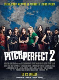 Pitch Perfect 2 est un film de Elizabeth Banks avec Anna Kendrick, Rebel Wilson. Synopsis : Les Barden Bellas sont de retour pour faire vibrer le monde dans Pitch Perfect 2, suite de The Hit Girls qui racontait l'histoire d'une bande d'adorab