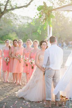 Destination Wedding: Costa Rica - Riu Palace Costa Rica - Beach ceremony - Weddings by RIU