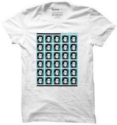 Camiseta Schubert Pop #música #ópera #tshirts #camisetas operaclub.com.br