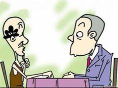 """Truyện tranh: Anh con rể khiêm tốn   Được bố vợ đồng ý cho cưới chàng trai """"khiêm tốn"""" nhường hết quyền quyết định lại cho... nhà vợ.  Ảnh minh hoạ  Truyen-ngan"""