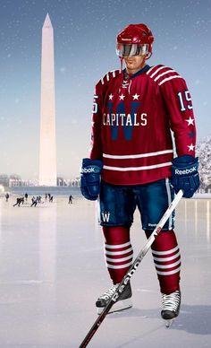 Washington capitals winter classic hoodie