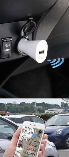 Never loose your parked car again with this smart car locator! - www.MyWonderList.com