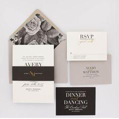 Floral Wedding Invitations, Modern Wedding Invitation, Elegant Wedding, Classic…