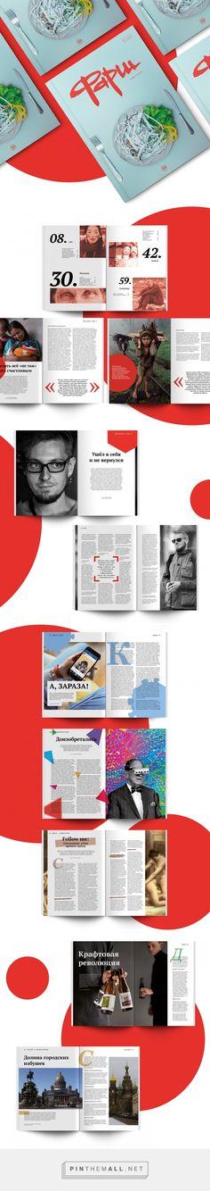 FARSCH Magazine // Editorial Design on Behance - created via https://pinthemall.net