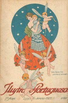1923 - Ilustração Portuguesa  New Year