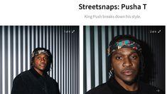 Pusha T, People, Style, Swag, People Illustration, Outfits, Folk