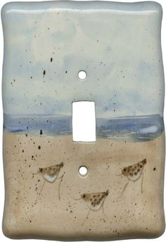 Sandpiper Light Switch Plates, Outlet Covers, Wallplates  $21.50