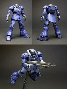 Gundam Mad :: Gundam Models :: 1/144 HGUC AMS-129M Zee Zulu