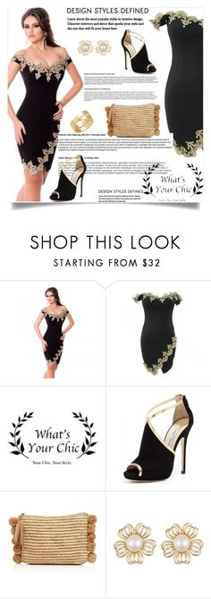 """""""What's your chic"""" by nejra-l ❤ liked on Polyvore featuring Jimmy Choo, Loeffler Randall, Cartier and WhatsYourchic"""