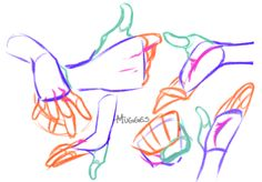 Anatomy Drawing image - literally--illiterate said: how did you figure out how to do hands Answer: well when I do hands I tend to break them into 3 big shapes starting with the wrist then palm, thumb then the fingers once I. Hand Drawing Reference, Art Reference Poses, Anatomy Drawing, Anatomy Art, Drawing Base, Figure Drawing, Drawing Sketches, Art Drawings, Drawing Tips